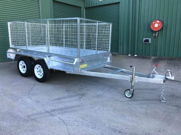 10 x 5 ft Tandem Box Trailer - Lockyer Trailers