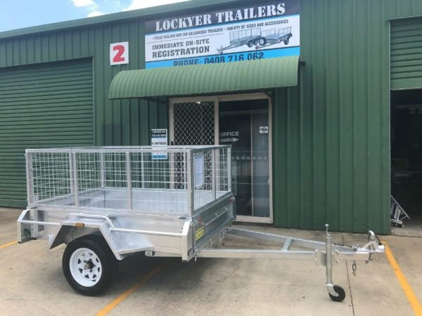 6 x 4 ft Box Trailer - Lockyer Trailers