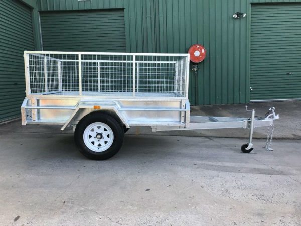 7 x 4 ft Box Trailer - Lockyer Trailers