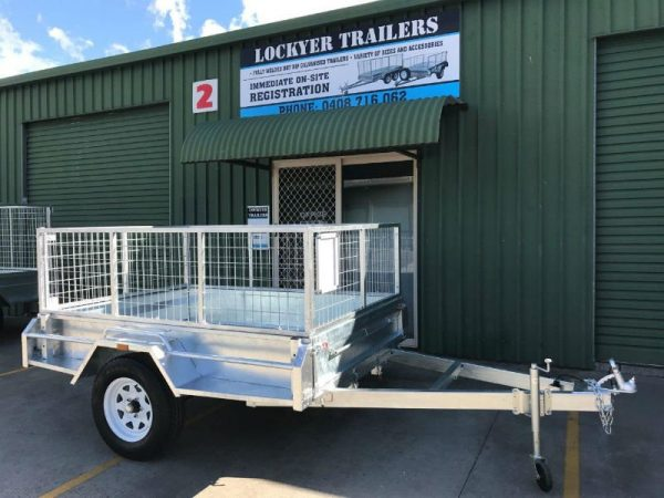 7 x 5 ft Box Trailer - premium