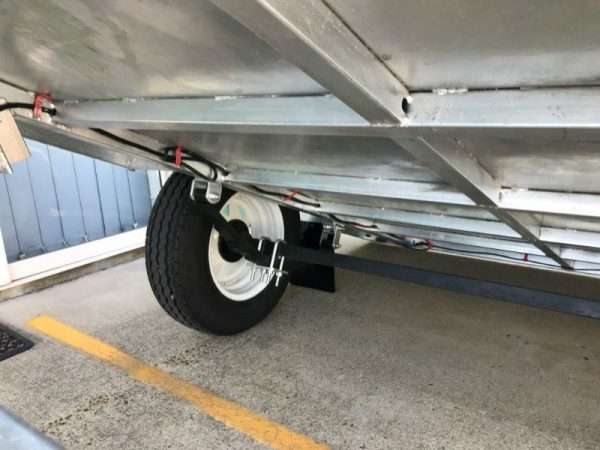 8 x 5 ft Premium Box Trailer 750kg