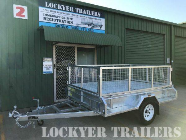 8 x 5 ft Premium Box Trailer 750kg