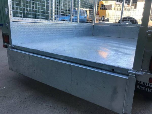 8 x 5ft Tandem Box Trailer ATM 2000kg