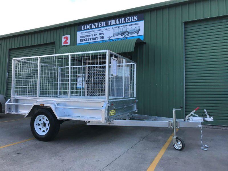 8 x 5 ft Premium Heavy Duty Box Trailer | Lockyer Trailers