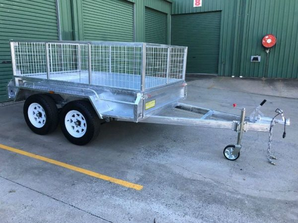 8 x 5 ft Tandem Box Trailer