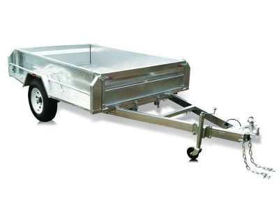 8 x 5 ft Hi-sides Box Trailer