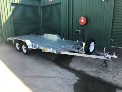 15 x 6ft tandem car trailer