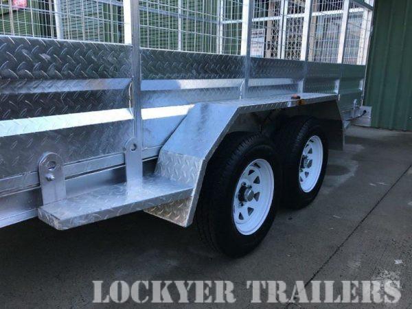 15.5 x 6.5ft Tandem Car Trailer 2 tonne - tandem