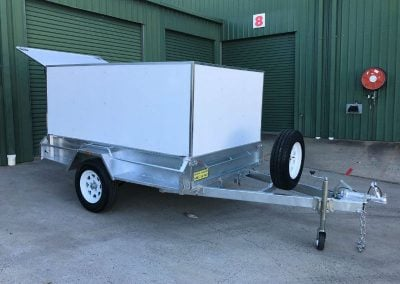 Composite Canopy for Trailer