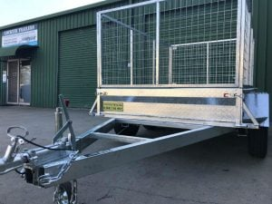 8 x 5 Heavy Duty Tandem Trailer