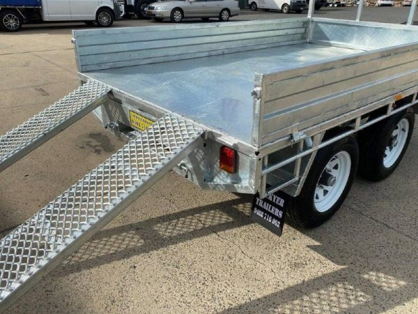 10x6ft Flat Deck Trailer 3.5tonne