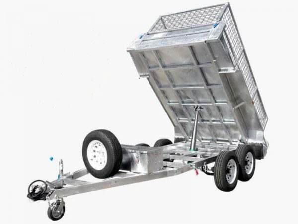 10 x 5ft Hydraulic Tipping Box Trailer