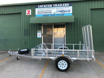 8 x 5 ft ATV/Motorbike Trailer - ATM 750kg