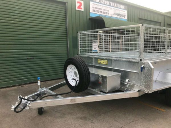 10 x 6 ft Hydraulic Tipping Box Trailer