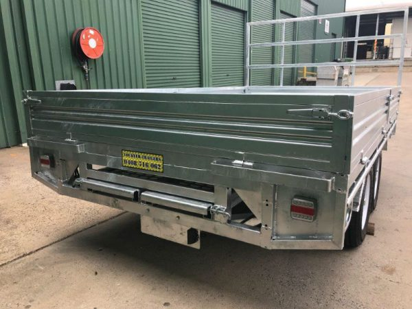 12 x 7 ft Extra Heavy Duty Flat Deck Trailer ATM 3500kg