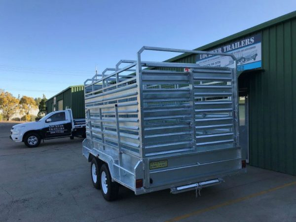 12 x 6 ft Cattle Crate Trailer - ATM 3500kg
