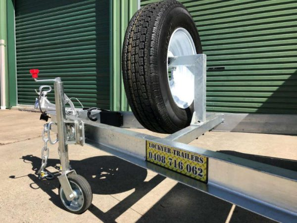 12 x 6 ft Hi-Side Box Trailer with Loading Ramps - ATM 3500kg