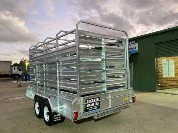 12 x 6 ft Cattle Crate Trailer – ATM 3500kg