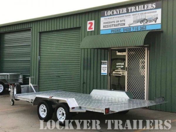 2ton Car Hydraulic Tilting Rampless Trailer