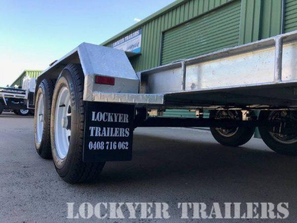 3.5 ton Hydraulic Tipping Car Trailer
