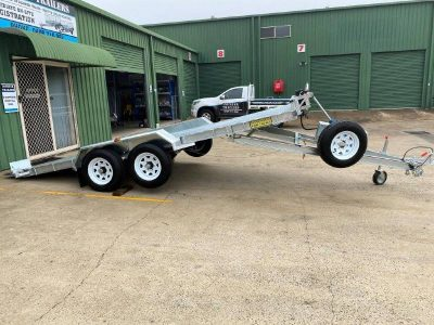 Hydraulic Tipping Car Trailer