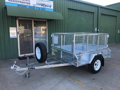 6 x 4ft Premium Tilting Box Trailer