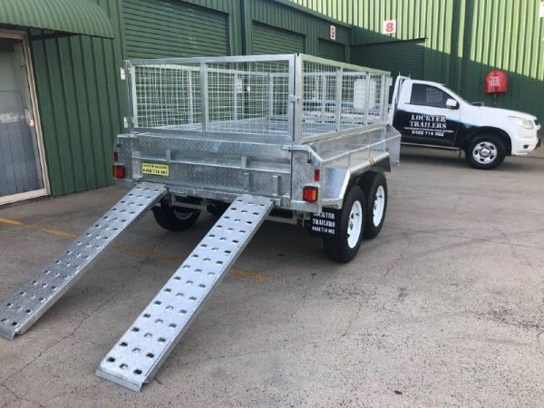 8 x 5ft Premium Hydraulic Tipper Trailer
