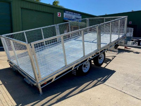 15.7 x 8 ft Hydraulic Tilting Flat Deck Trailer