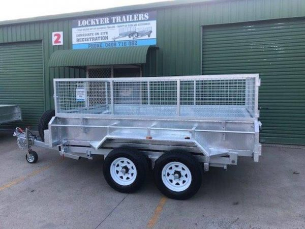 10 x 5ft Hydraulic Tipper Trailer with Loading Ramps