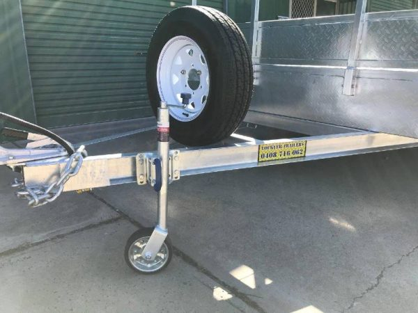 16 x 8ft Flat Deck Trailer with Loading Ramps