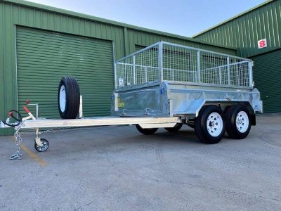 8 x 5 ft Tandem Hi-Side Box Trailer – Premium – ATM 2000kg