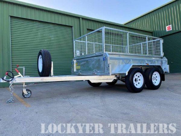 8 x 5 ft Tandem Hi-Side Box Trailer – Premium – ATM 2000kg