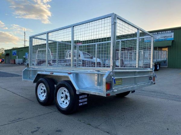 9 x 6 ft Tandem Box Trailer – ATM 2000kg