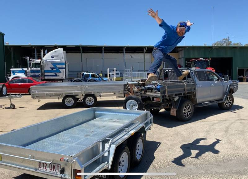 Ed from Goondiwindi – Oh What a Feeling!!
