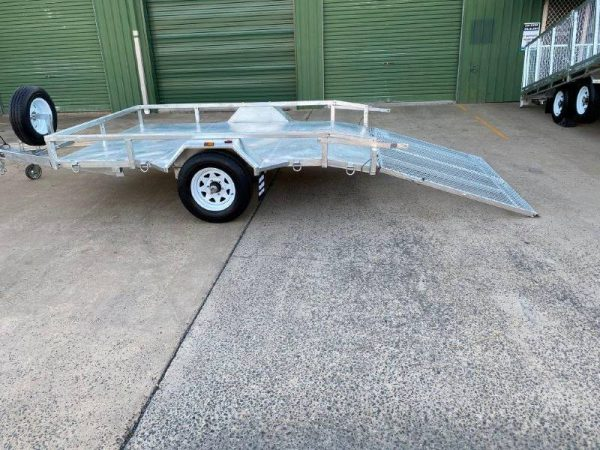 10 x 6ft Mower Machinery Buggy Trailer