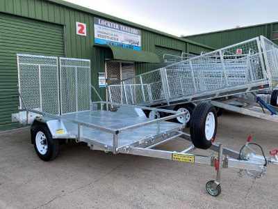 10 x 6ft Mower Machinery Buggy Trailer