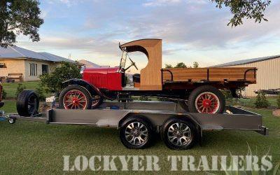 Custom Purpose-Built Car Trailer for Model T Ford