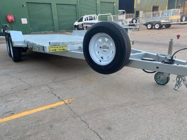 Tandem Tilt Car Trailer 3.2tonne